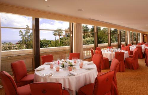 Hotel Metropole salon mediterrannee