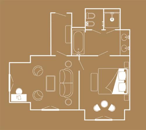 plan_Suite Deluxe Mer Hotel Metropole-MC