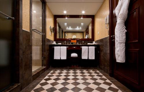 suite de luxe Metropole salle de bain 2